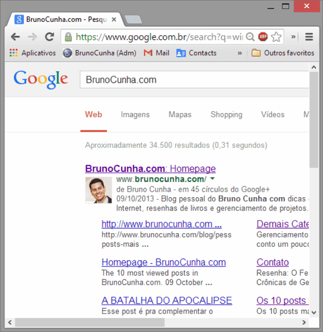 Windows 8.1 - Google Chrome Embaçado