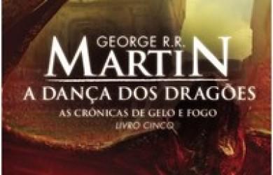 Capa do Livro Dança dos Dragõs de George R. R. Martin